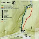 Ash Cave Map