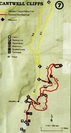 Cantwell Cliffs Map