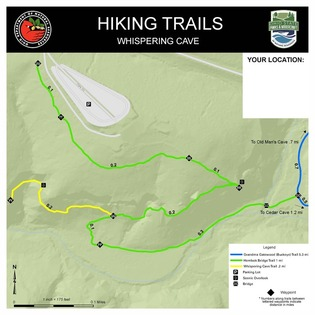 Hiking Trails Whispering Cave